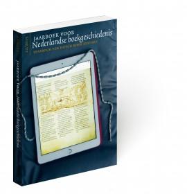 Jaarboek voor Nederlandse boekgeschiedenis 2015 cover